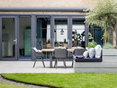 Kozijn & Zo Kunststof kozijnen - Win advies in bij een specialist Kunststof kozijnen met openslaande deuren in vtwonen weer verliefd op je tuin - openslaande tuindeuren