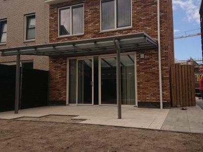 Kozijn en Zo Kunststof Kozijnen Hoogvliet - Erhardt terrasoverkapping in Spijkenisse