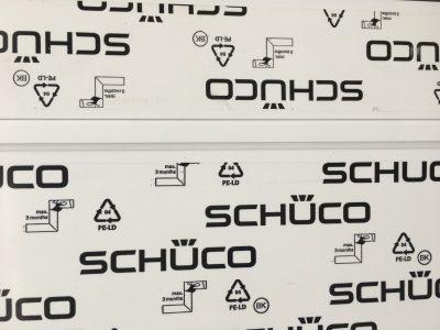 Kozijn en Zo kunststof kozijnen zijn opgebouwd uit Schüco profielen
